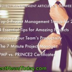 The Most Popular Project Management Articles From 19 to 25 February 2014