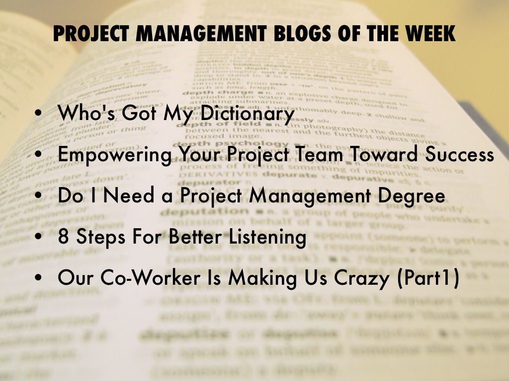 Popular Project Management Blogs Feb141