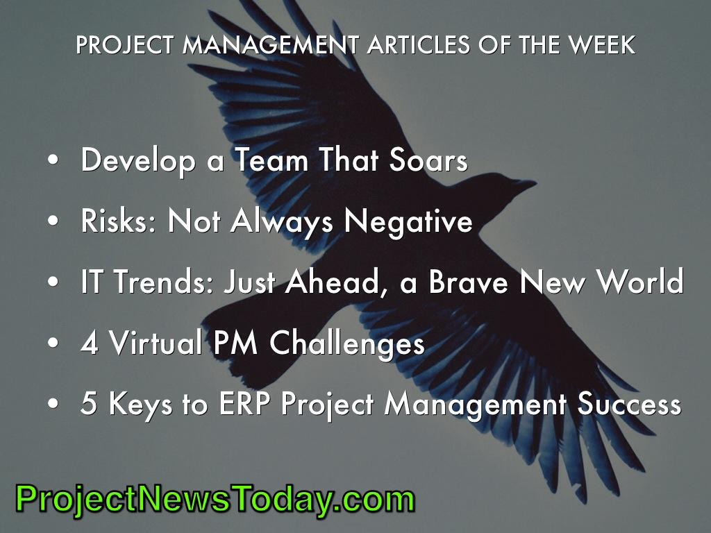 Popular Project Management Articles Mar141