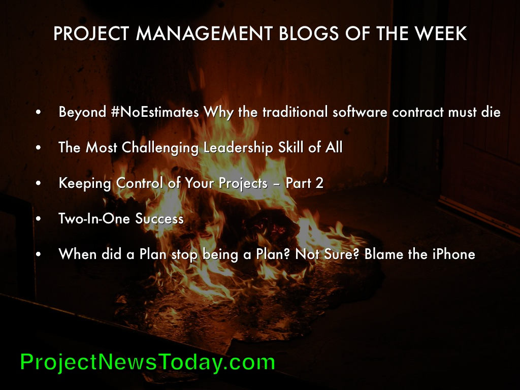 Popular Project Management Blogs Mar143