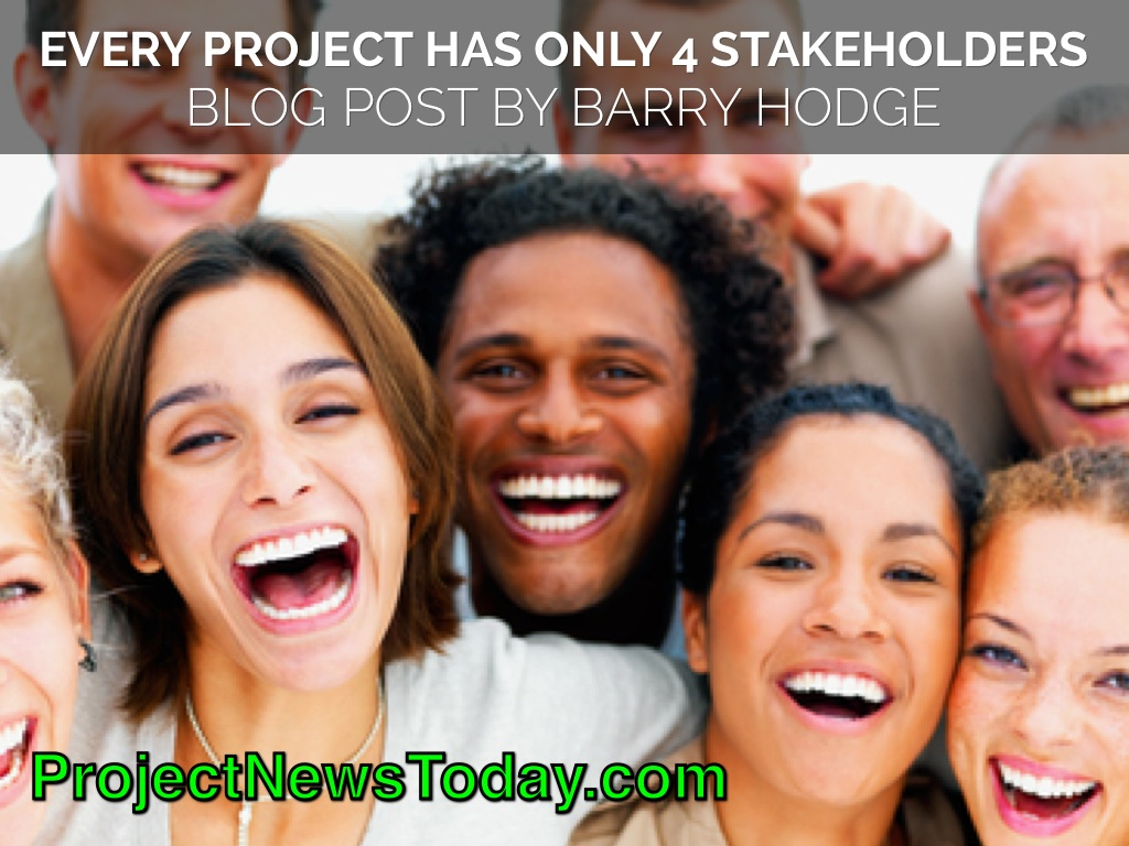 Every Project Has Only 4 Stakeholders