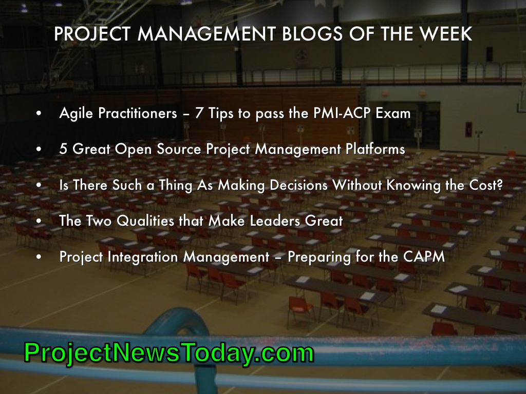 Popular Project Management Blogs Apr 142