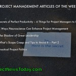 The Most Popular Project Management Articles From 06 to 12 May 2014