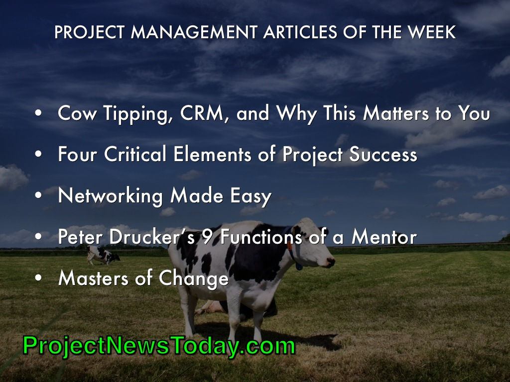 Popular Project Management Blogs May142