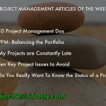 The Most Popular Project Management Articles From 11 to 17 June 2014