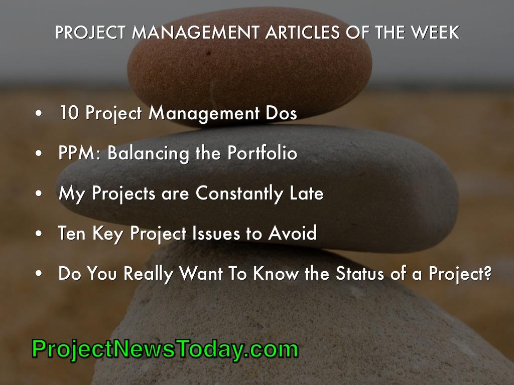 Popular Project Management Articles Jun 143