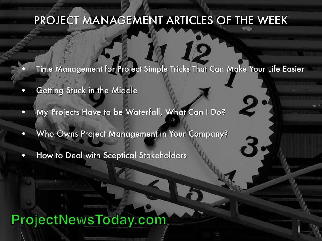 Popular Project Management Articles Jun141