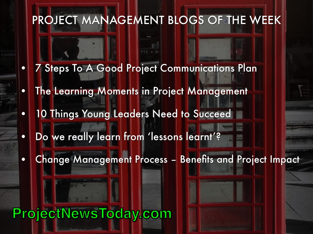 Popular Project Management Blogs Jun141