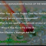 Popular Project Management Blog Posts From 06 to 12 June 2014