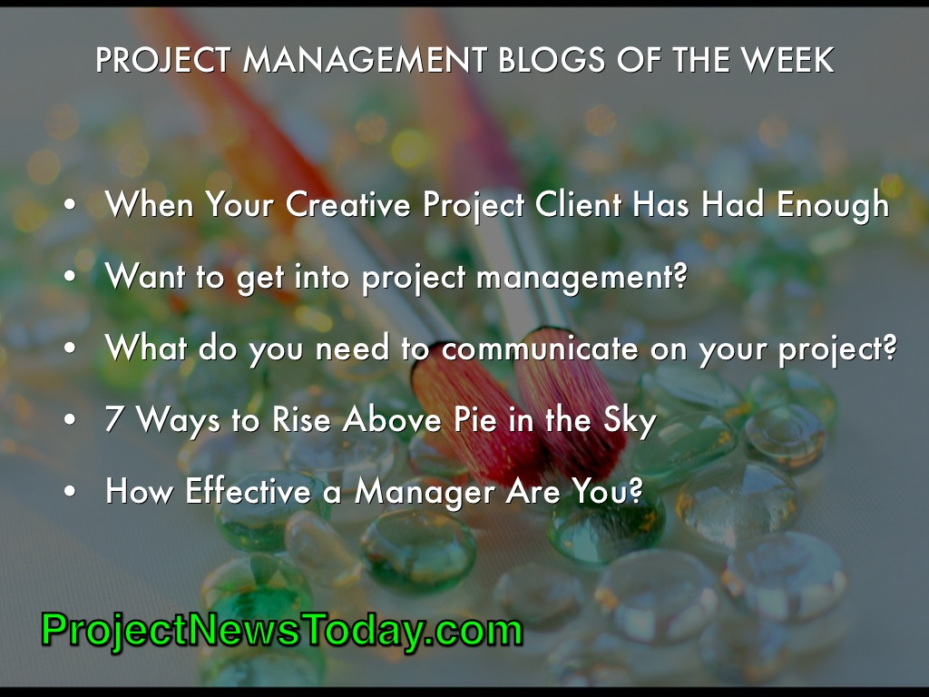 Popular Project Management Blogs Jun142