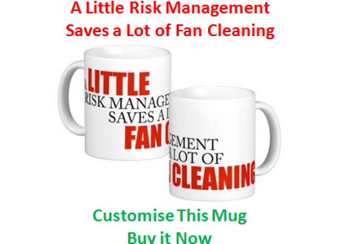 (3) A Little Risk Management Saves a Lot of Fan Cleaning