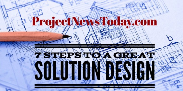 7 steps solution design