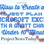 Create Project Plan in MS Excel with a Gantt Chart in Under 10 Minutes