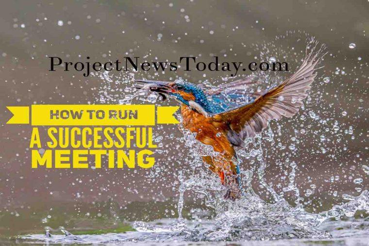 run successful meeting