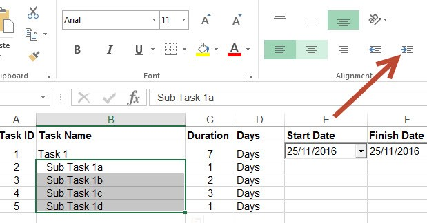 Create Project Plan In Ms Excel With A Gantt Chart In Under