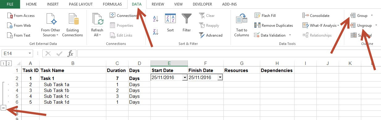 Create Project Plan In Ms Excel With A Gantt Chart In Under 10