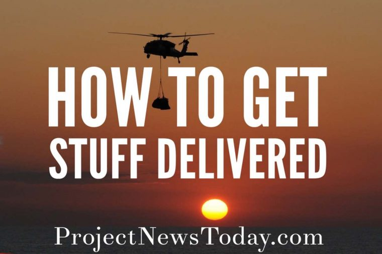 how to get stuff delivered