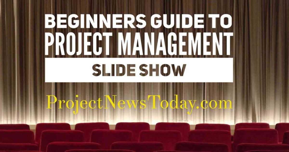 beginners guide to project management slide show project