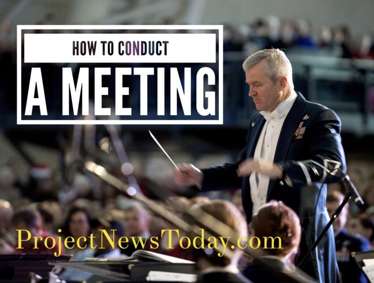 How to Conduct a Meeting