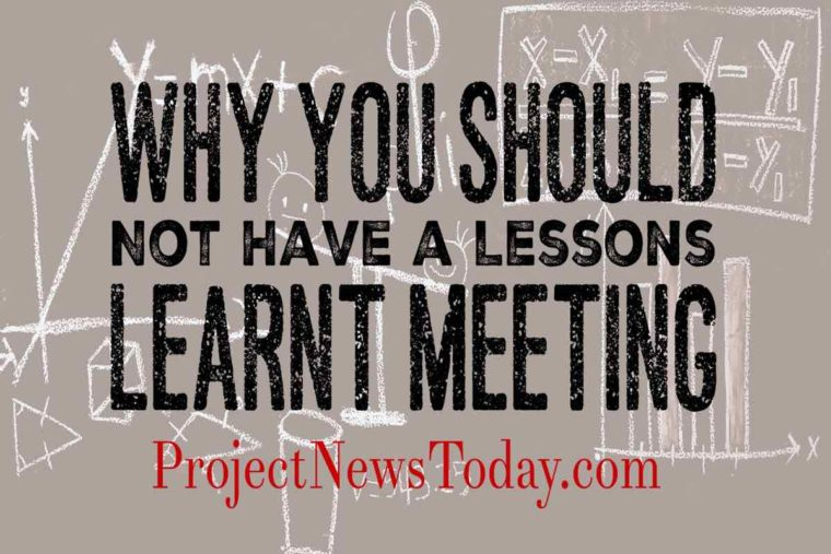 lessons learnt meeting