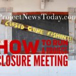 How to Run a Project Closure Meeting