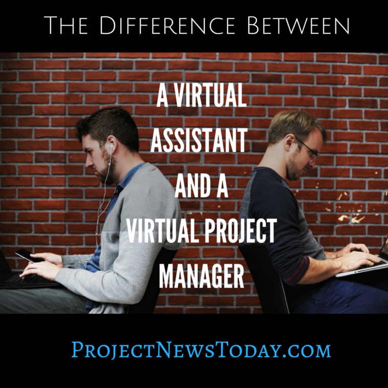 virtual assistant and virtual project manager