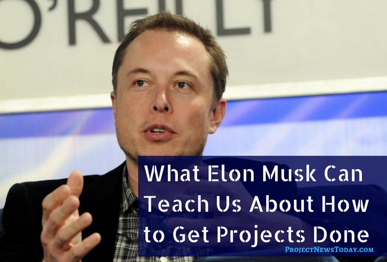 elon musk project management