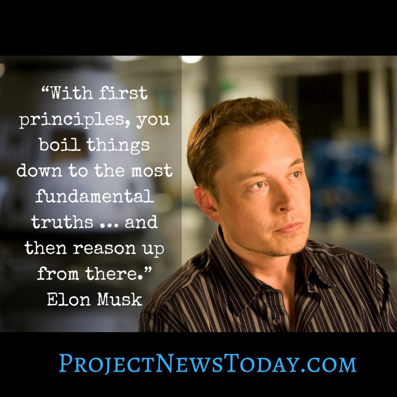 elon musk first principles