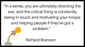 Richard Branson Management Quote