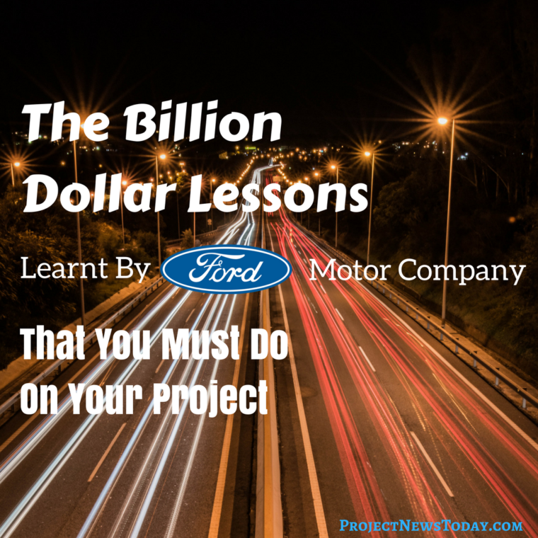 Alan Mulally's Billion Dollar Project Management Lessons